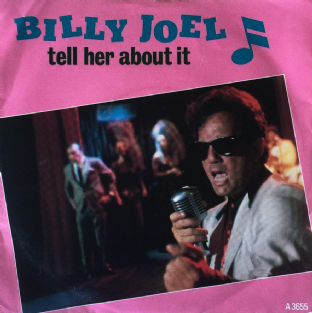 "Billy Joel ‎- Tell Her About It (7"") (VG-/VG-)"